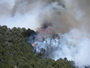 Photo of Flare up during the 2011 Los Conchas Fire on the Santa Fe National Forest. USDA Forest Service