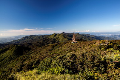 Photo of Peaks of El Yunque National Forest, Puerto Rico. Gerald Bauer, U.S. Department of Agriculture Forest Service.