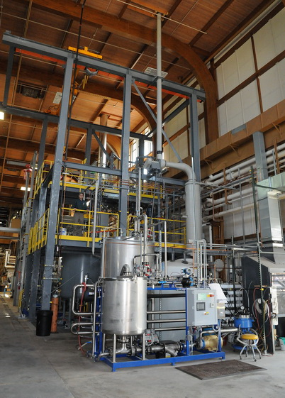 Photo of Nanocellulose facility at the Forest Service's Forest Products Laboratory in Madison, Wisc. U.S. Department of Agriculture Forest Service.