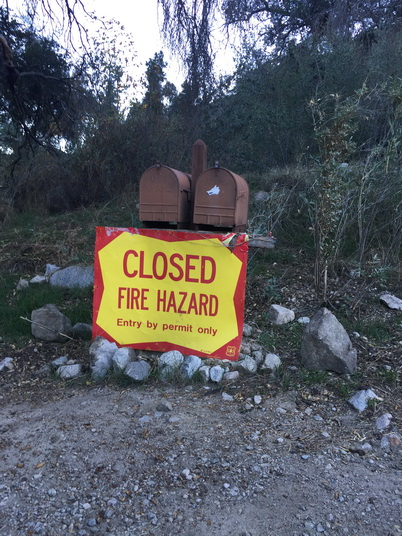 Photo of Structures lost to fire, Angeles National Forest. Miranda Mockrin, U.S. Department of Agriculture Forest Service.