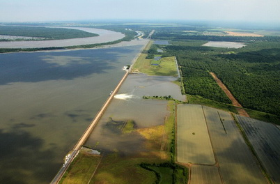 Photo of Landowners and land managers across the southeastern region need information for coping with increasing climate variability such as more frequent or severe floods and droughts. Lance Cheung, U.S. Department of Agriculture Natural Resources Conservation Service.