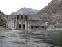 Photo of Hells Canyon Dam. Forest Service researchers and their colleagues have developed spatially explicit, individual-based models of salmonid fishes to address how dams affect them. NOAA.