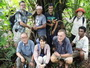 Photo of This international collaborative team representing the U.S., Japan, South Korea, Germany, and Federated States of Micronesia is an example of the international collaborations necessary to address invasive forest pathogens. Phil Cannon, U.S. Department of Agriculture Forest Service.