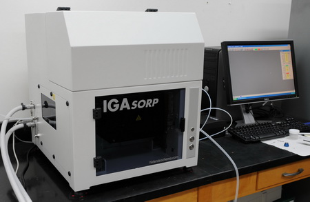 Dynamic vapor sorption instrument.