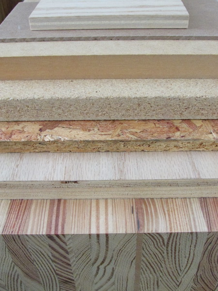 From Top To Bottom Decorative Plywood Hardboard Medium Density Fiberboard Particleboard Oriented Strandboard