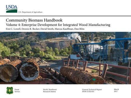 Photo of Community Biomass Handbook volume 4 helps users identify complementary biomass products that make ecologic and economic sense.