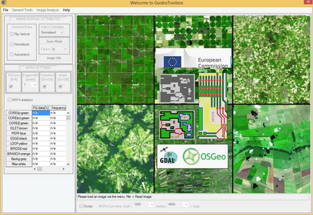 Photo of The GuidosToolbox offers a free, user-friendly alternative to commercial software tools for users across the globe to monitor forest fragmentation and landscape patterns at any scale.