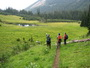 Photo of Hikers in the Olympic National Forest, Washington.