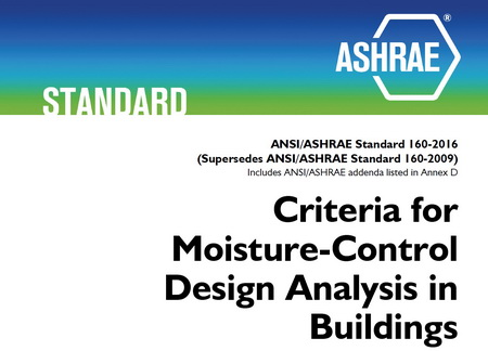 Photo of Cover of ASHRAE Standard 160-2016