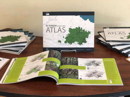 Photo of Photo of copies of the atlas