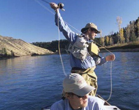 The South Fork of the Snake River and other world-famous northwestern U.S. fisheries are expected to lose trout and salmon habitat as a result of rising river temperatures. (Image: Bureau of Land Management.)