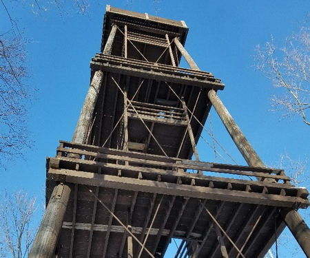 Photo of Potawatomi State Park observation tower.
