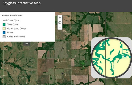Photo of Screenshot of the interactive StoryMap.