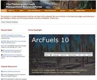 Fire Planning and Fuels Management Resource Portal