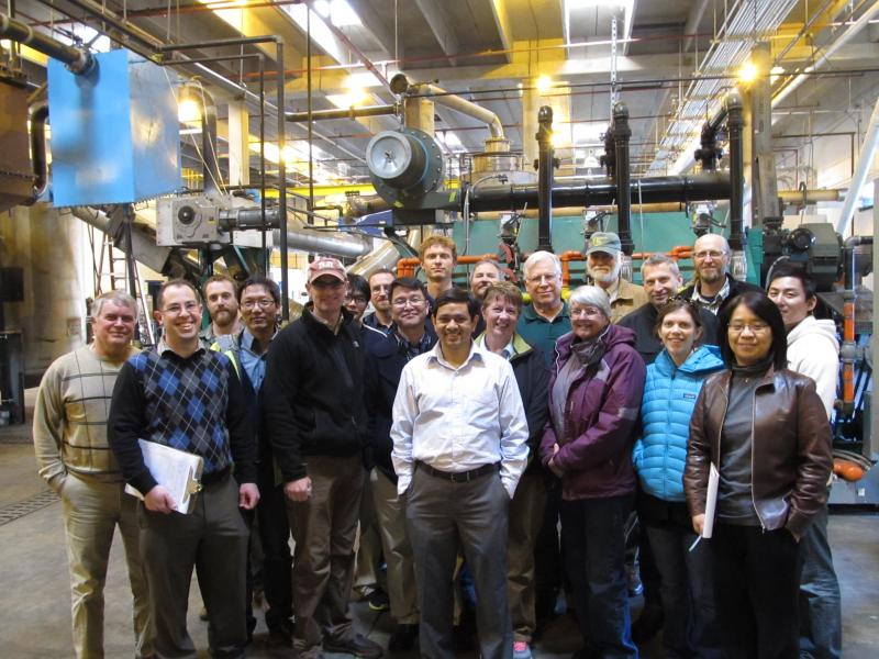 Members of the RMRS-BRDI research team in front of the Tucker RNG System.