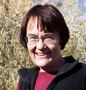 A headshot of Dr. Jeanne Chambers, Research Ecologist with the U.S. Forest Service