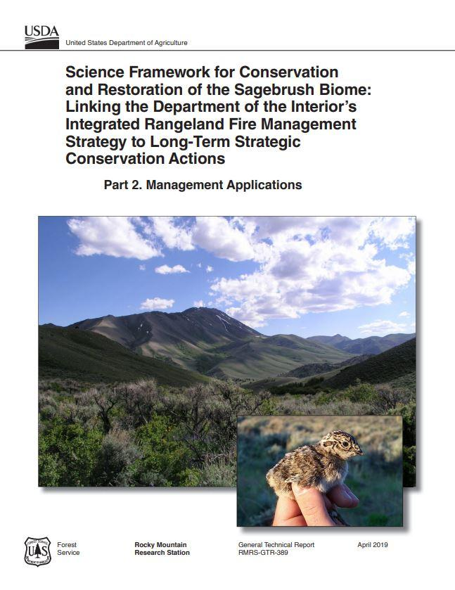 The Science Framework provides a transparent, ecologically responsible approach for making policy and management decisions for sagebrush landscapes