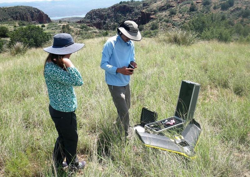 Sierra Ancha Vegetation Mapping Project - preparing to launch