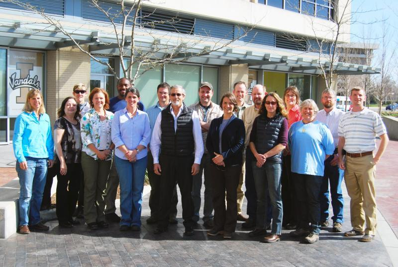 Staff with the Wildland Fire Management Research, Development and Application Program.