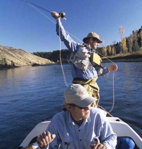 fishing on snake river