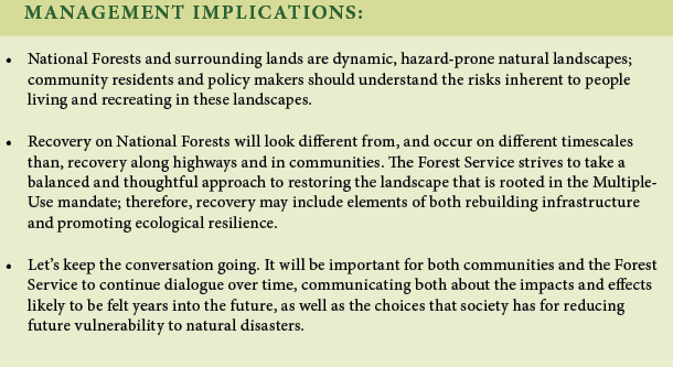 An image containing text discussing management implications for this research