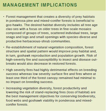 An image containing text about management implications for this research