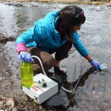 Environmental DNA can be collected from bodies of water and offers great potential for monitoring and detecting species of interest.