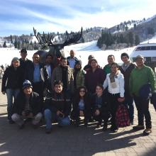 Participants in the Central and South American National Forest Inventory Study Tour in Ogden, Utah