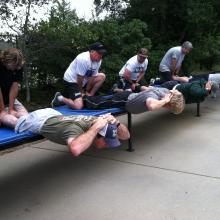 Fire Fit training.