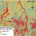 Spatial mapping of risk to wildfire responders