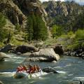 Instream flow is important to river recreation like rafting (photo by Tim Brown).