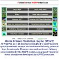 Forest Service Water Erosion Prediction Project (FS WEPP), designed to allow users to quickly evaluate erosion and sediment delivery potential from forest roads.