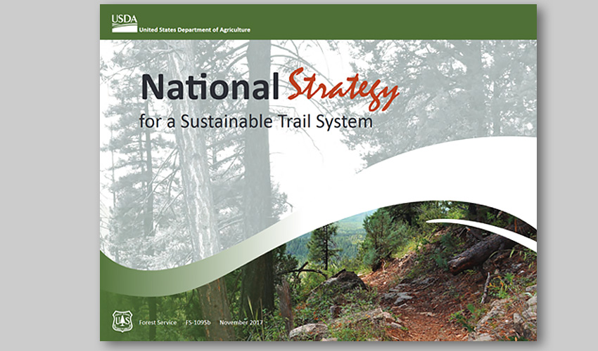 National Trails Strategy document cover