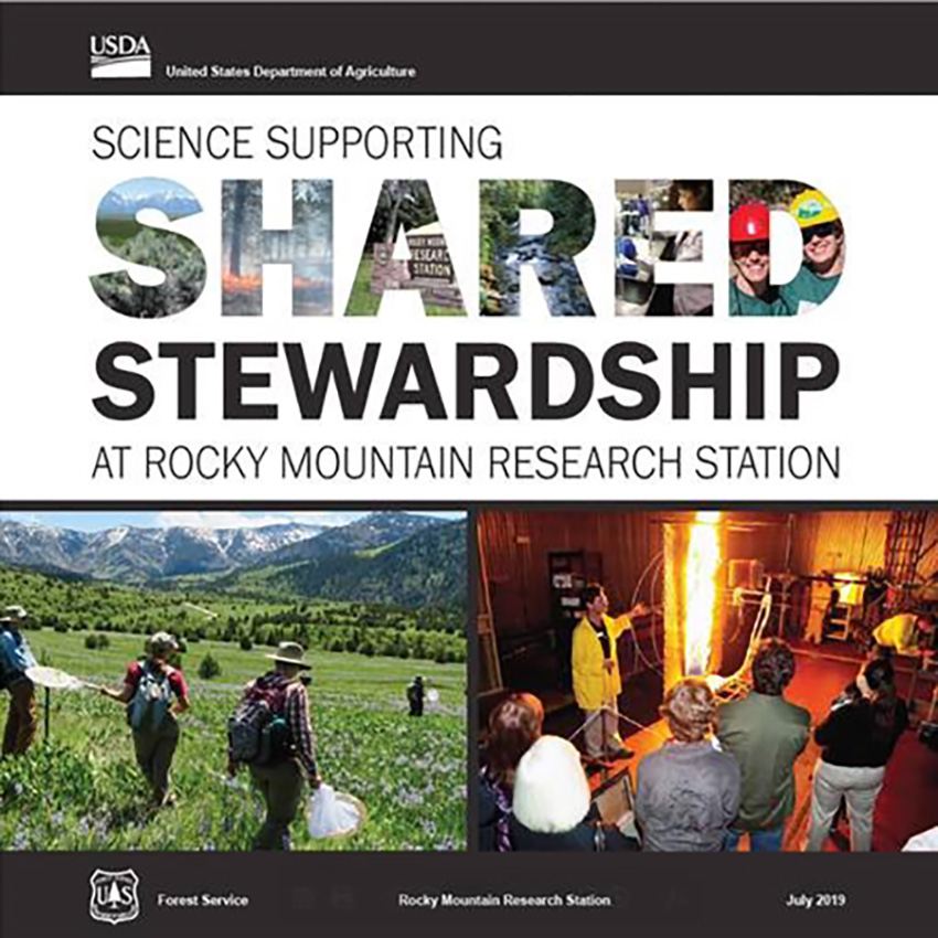 Science Supporting Shared Stewardship at Rocky Mountain Research Station cover