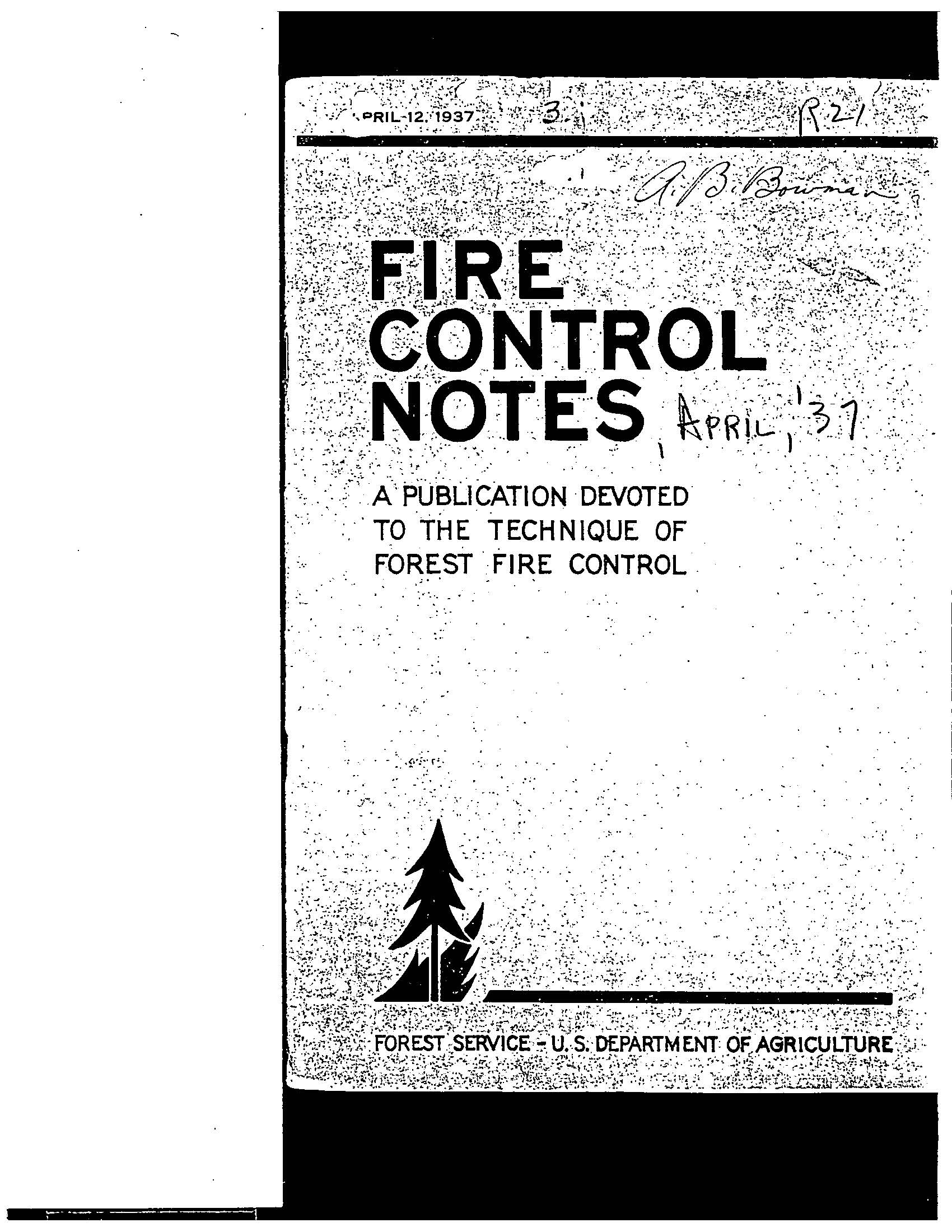 Cover of Fire Management Today Volume 01, Issue 04
