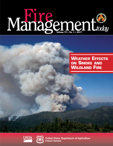 Cover for Fire Management Today Volume 75, Issue 1