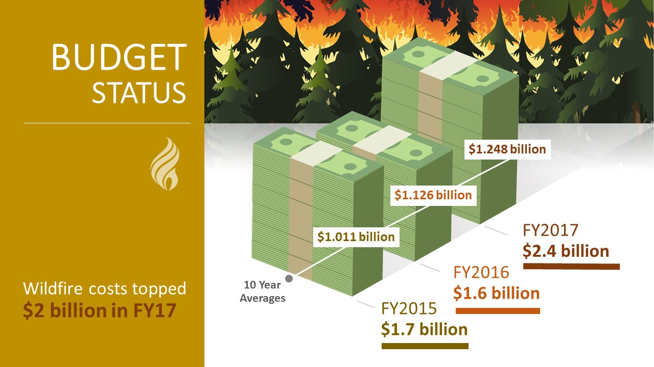 Cost of Fire Operations | US Forest Service