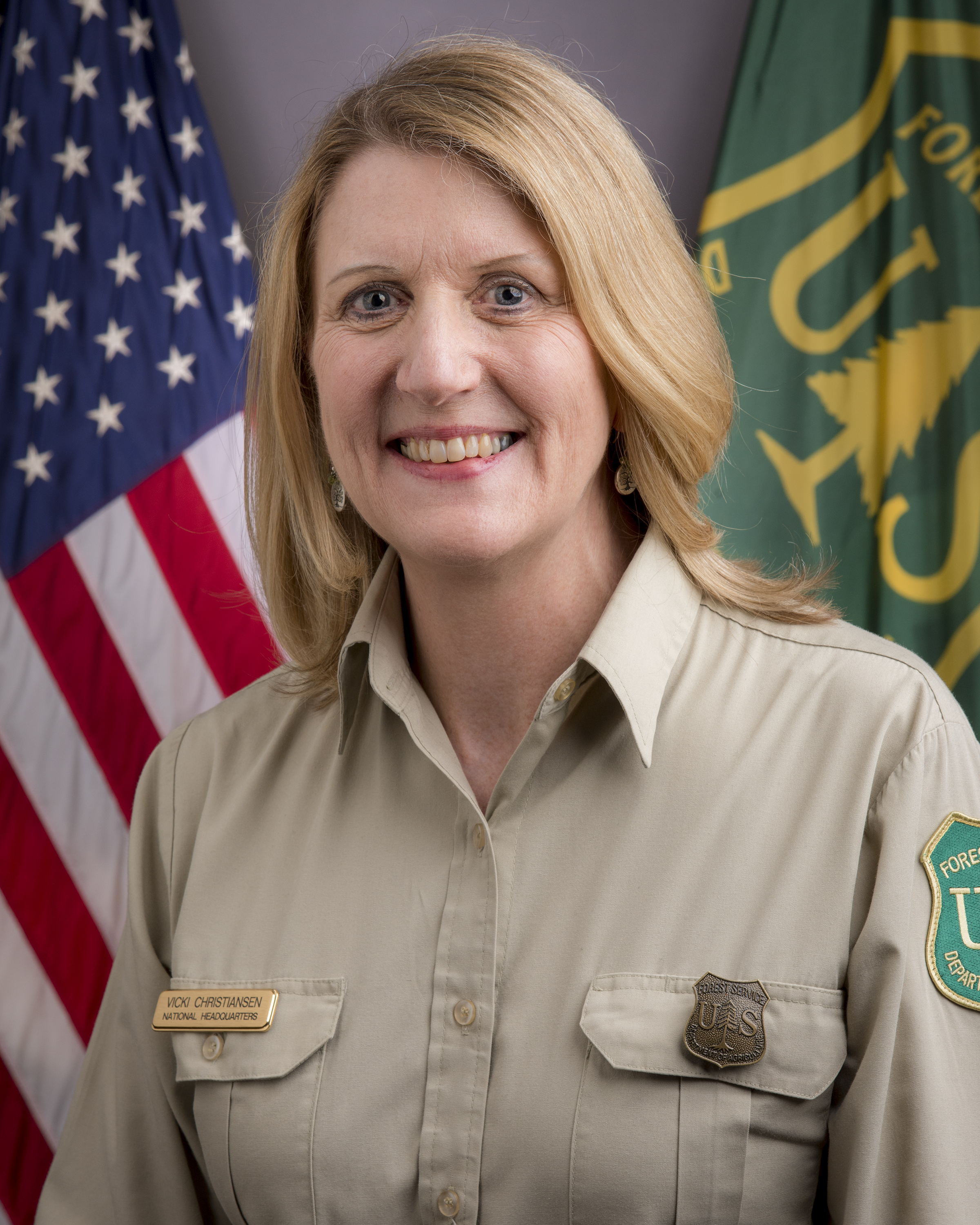 Photo: Official portrait of Vicki Christiansen.