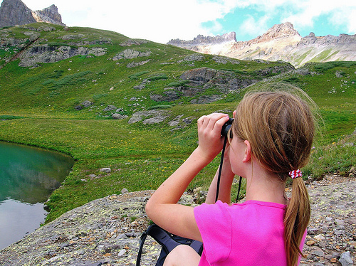 Make spring break fun for you and the kids with a scavenger hunt for such things as deer or  birds.