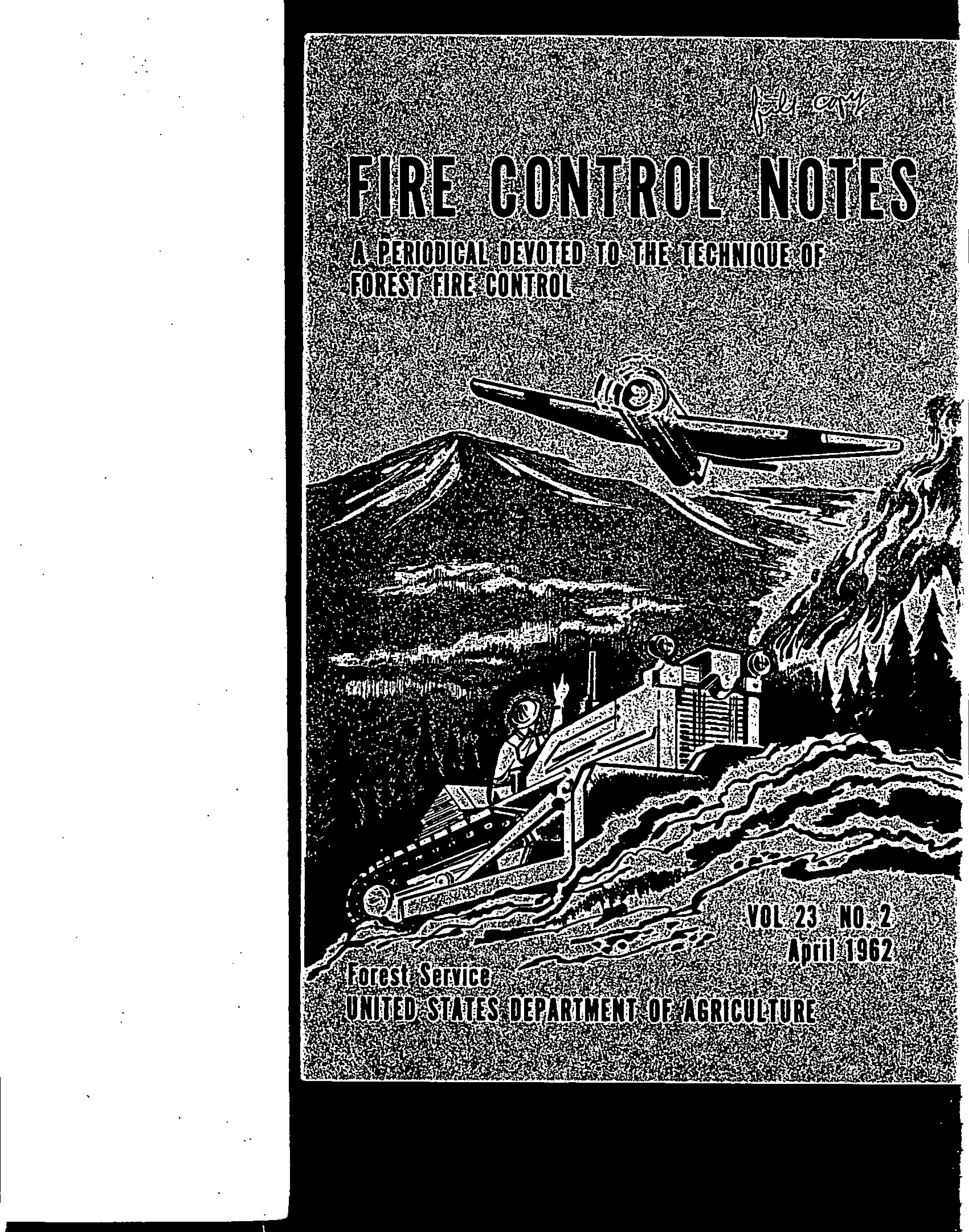 Cover of Fire Management Today Volume 23, Issue 02