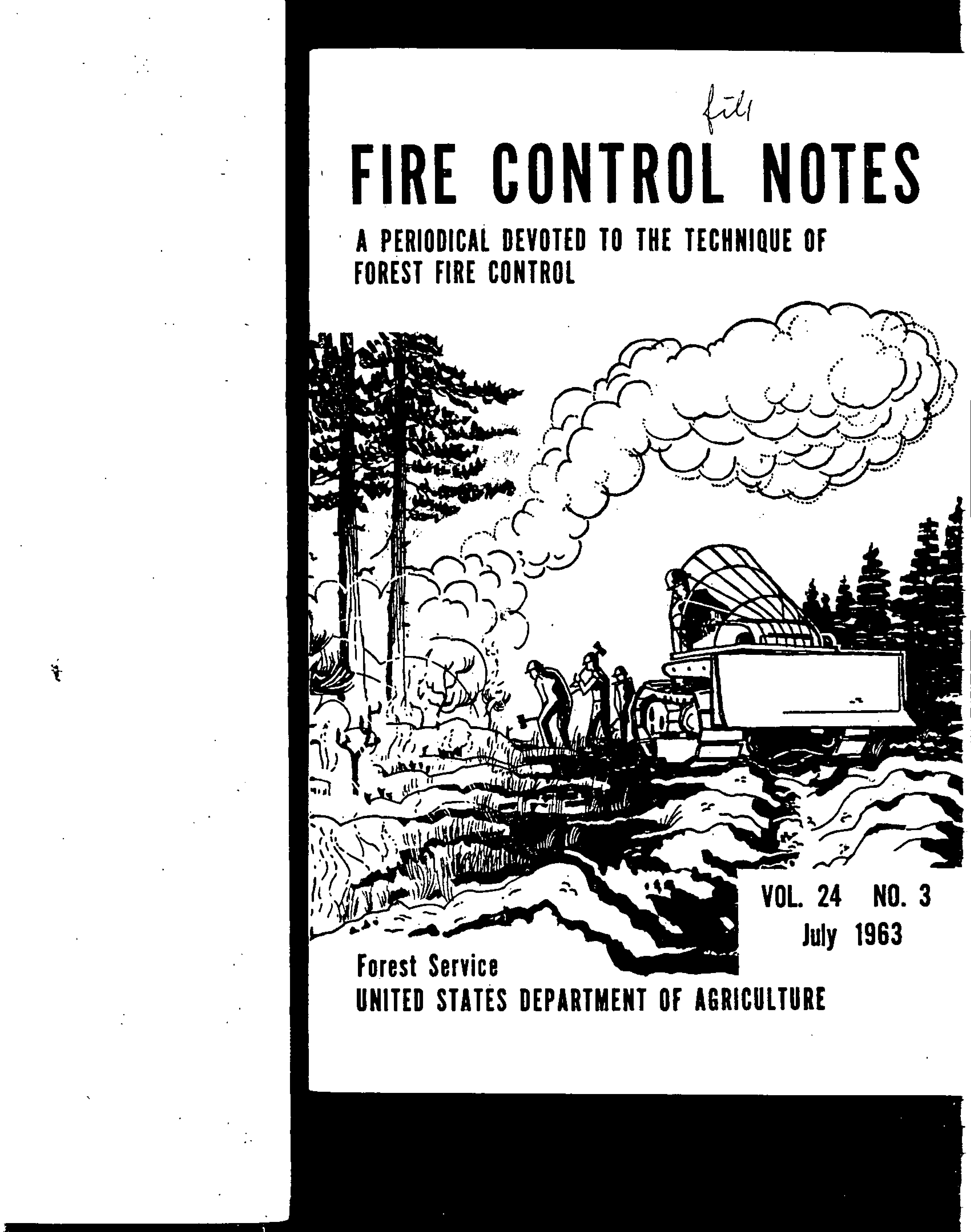 Cover of Fire Management Today Volume 24, Issue 03
