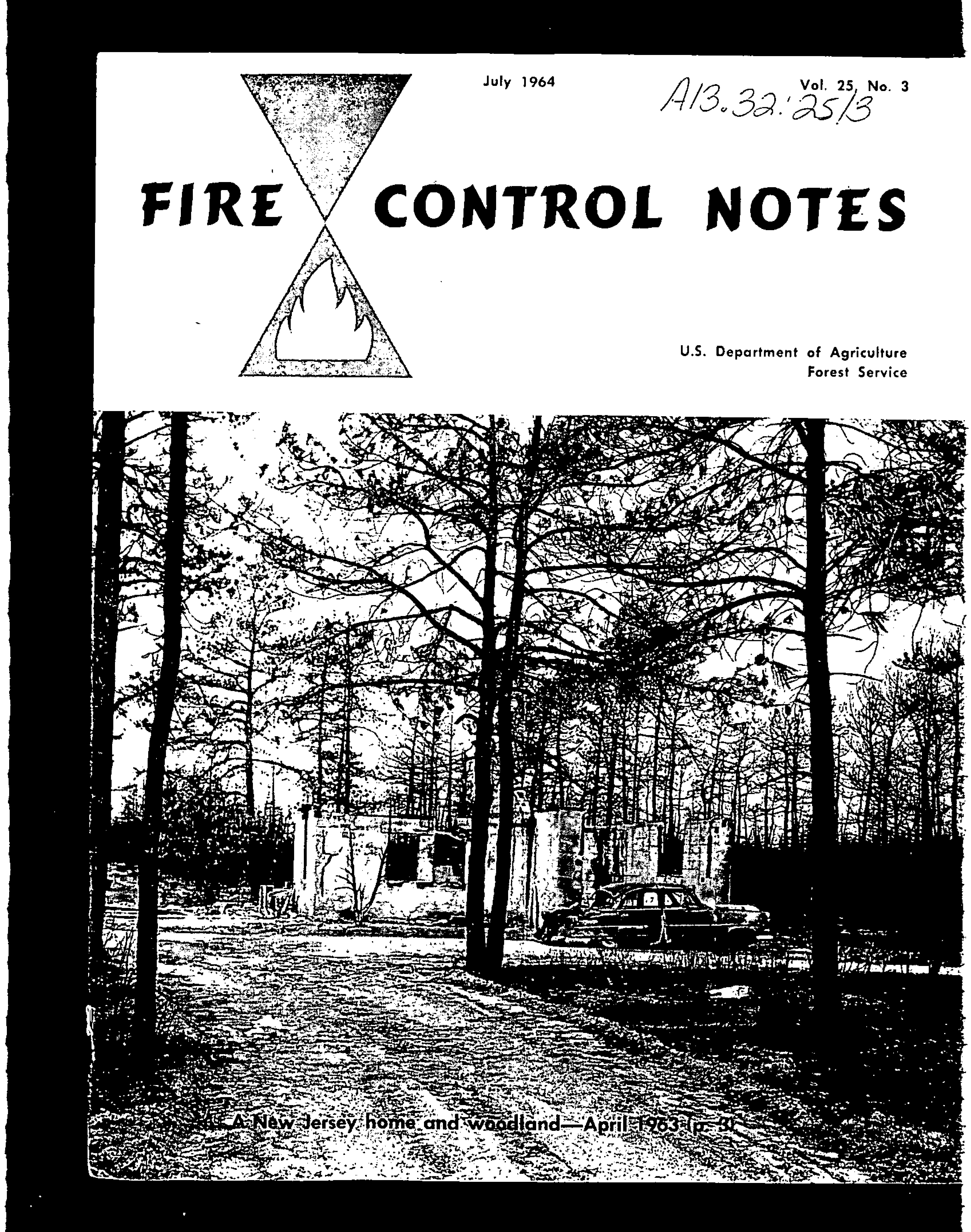 Cover of Fire Management Today Volume 25, Issue 03