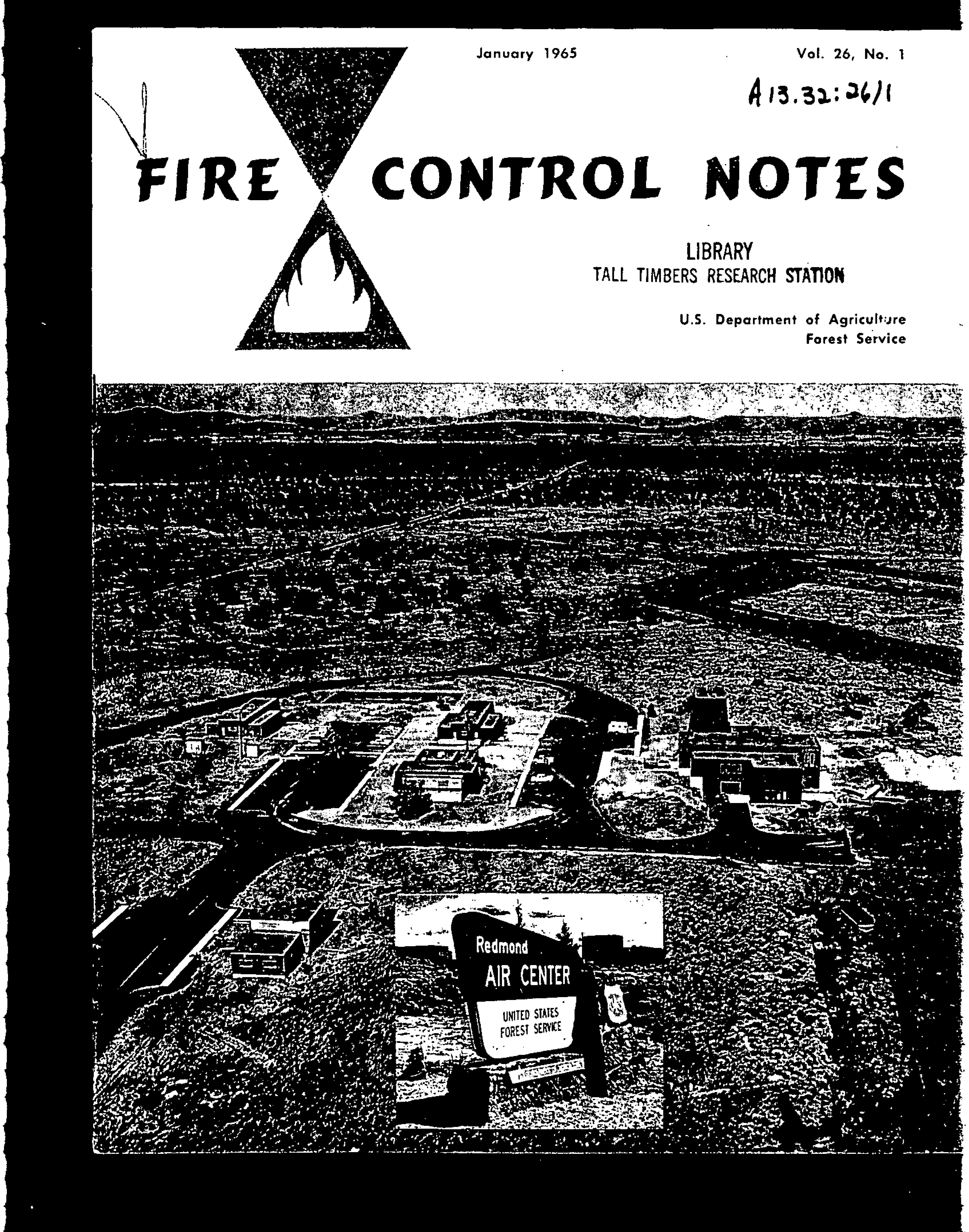 Cover of Fire Management Today Volume 26, Issue 01