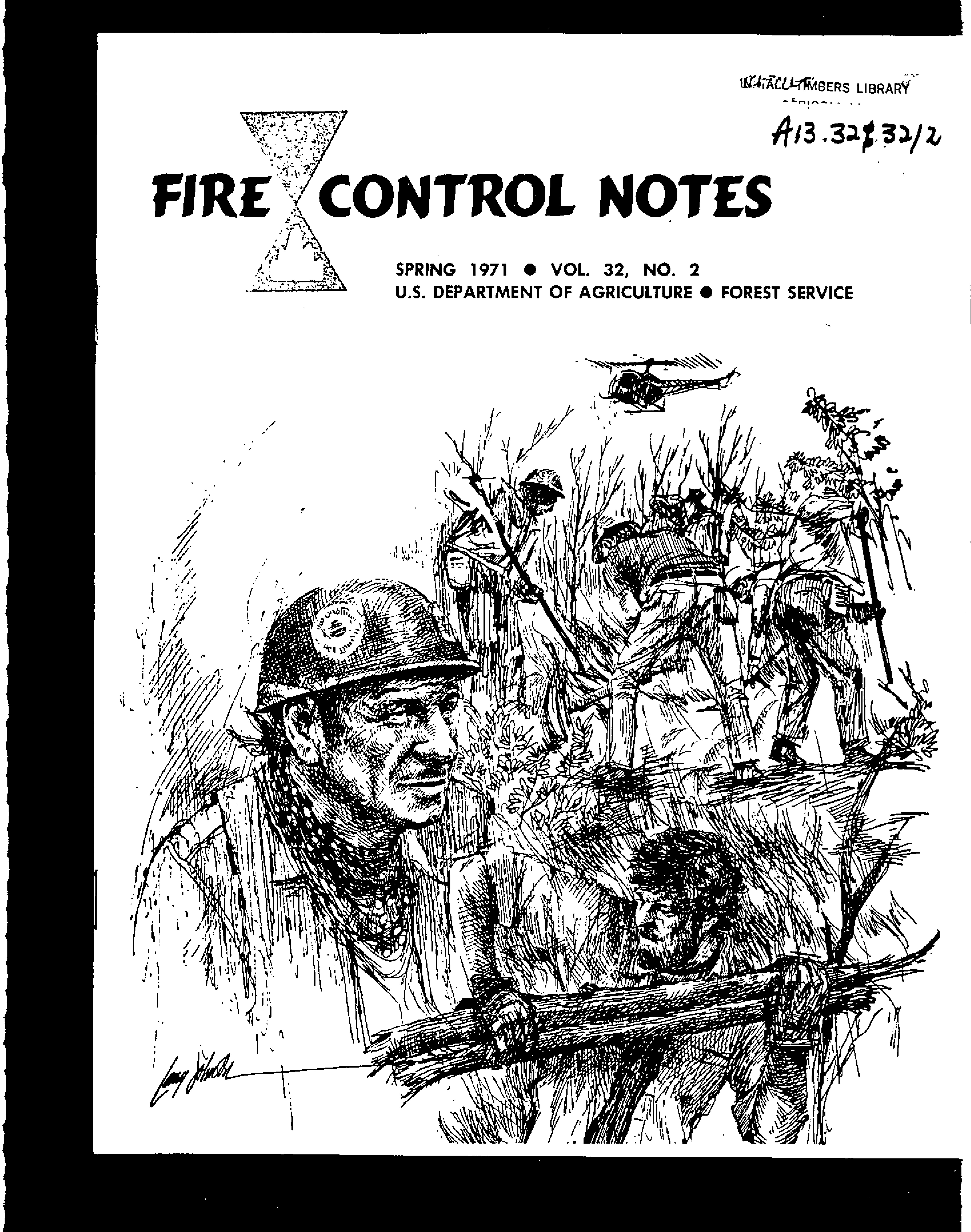 Cover of Fire Management Today Volume 32, Issue 02