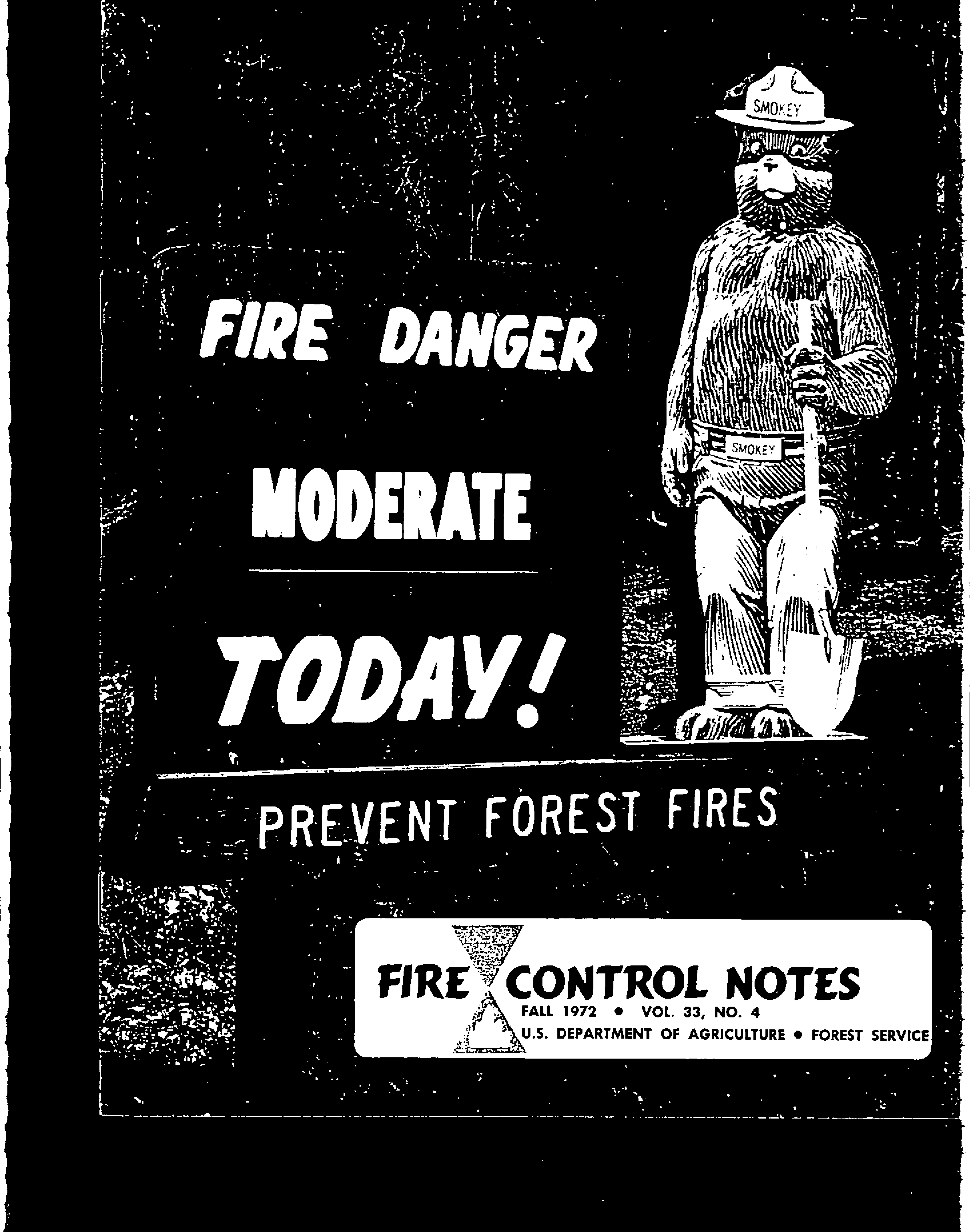 Cover of Fire Management Today Volume 33, Issue 04