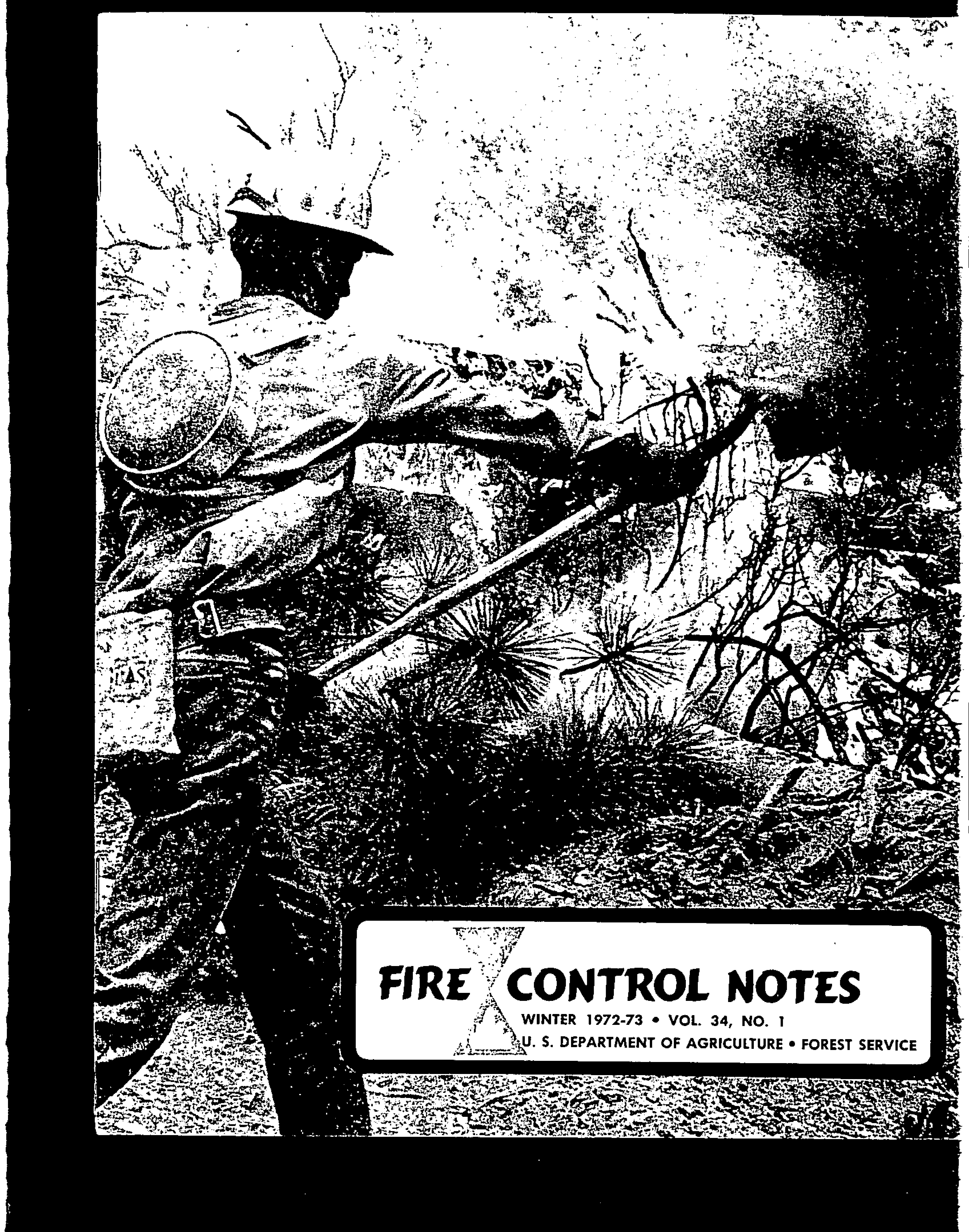 Cover of Fire Management Today Volume 34, Issue 01