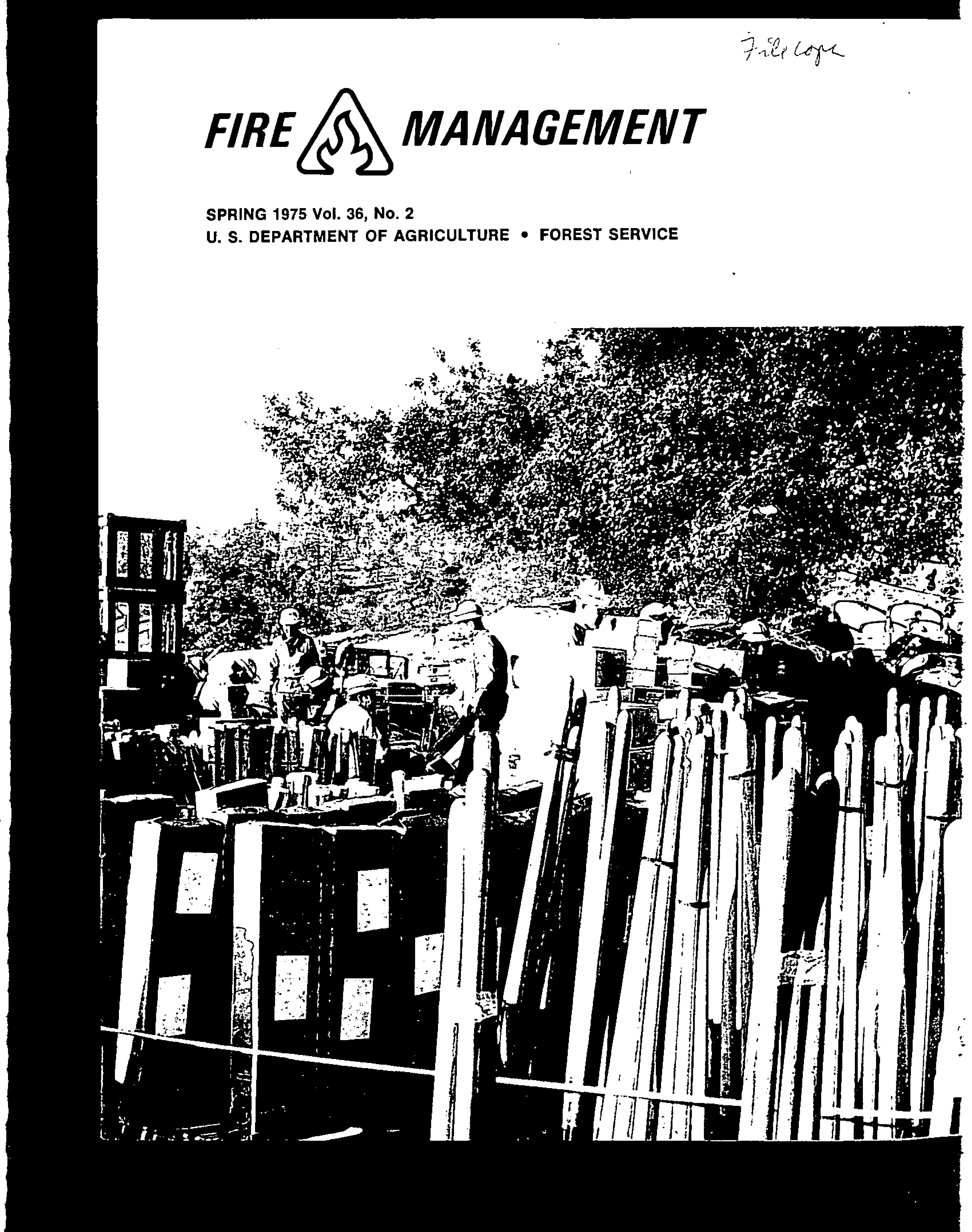 Cover of Fire Management Today Volume 36, Issue 02