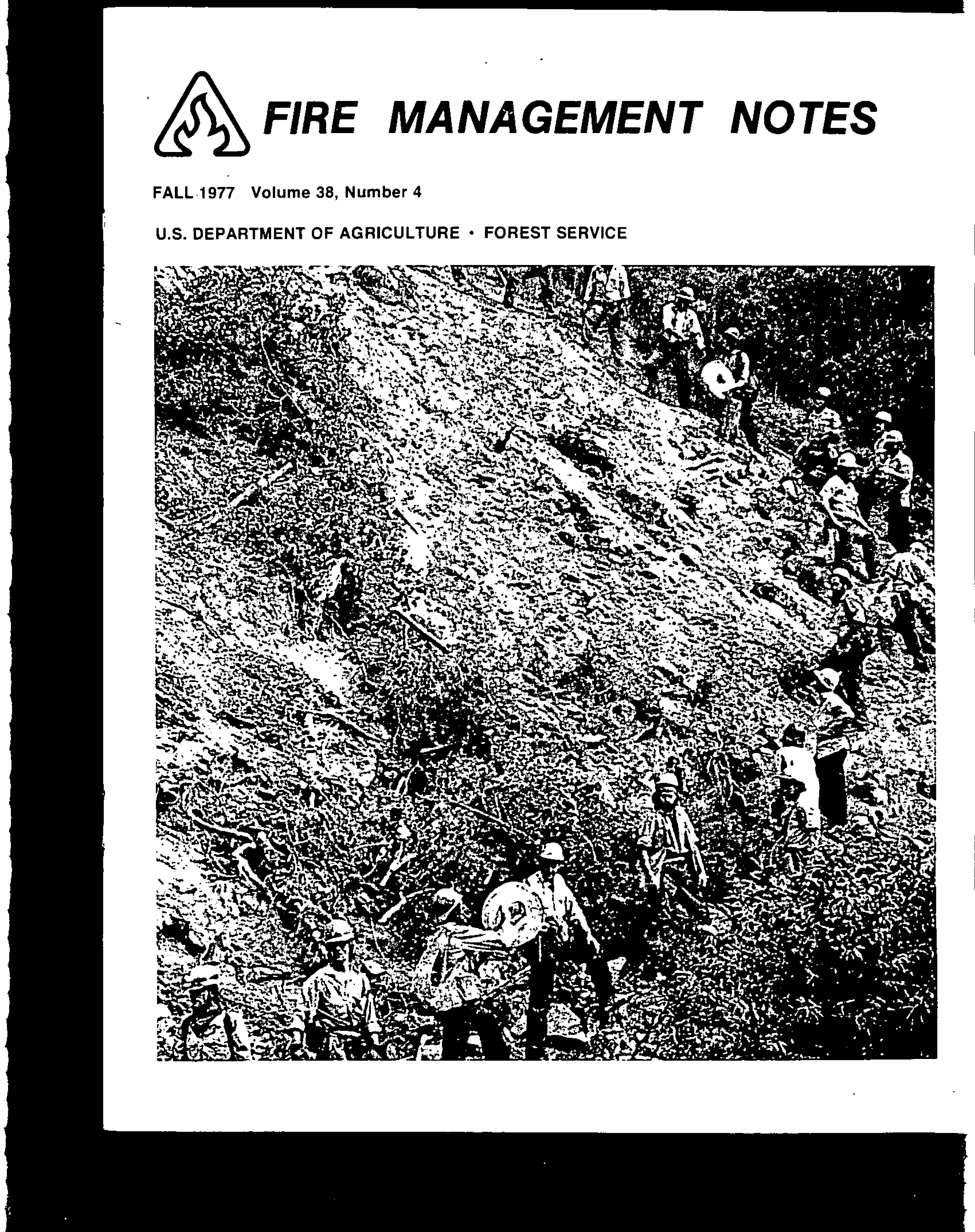 Cover of Fire Management Today Volume 38, Issue 04