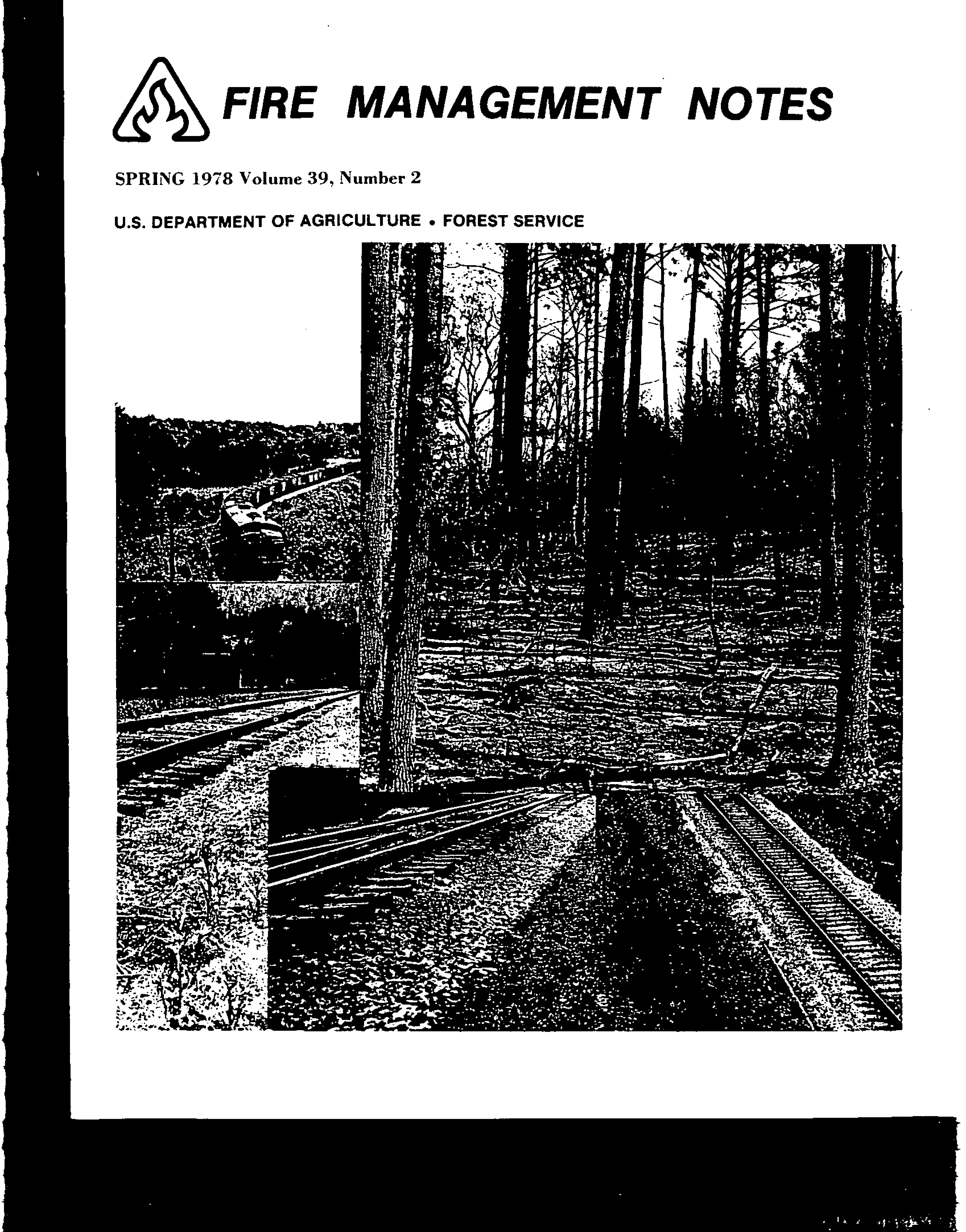 Cover of Fire Management Today Volume 39, Issue 02