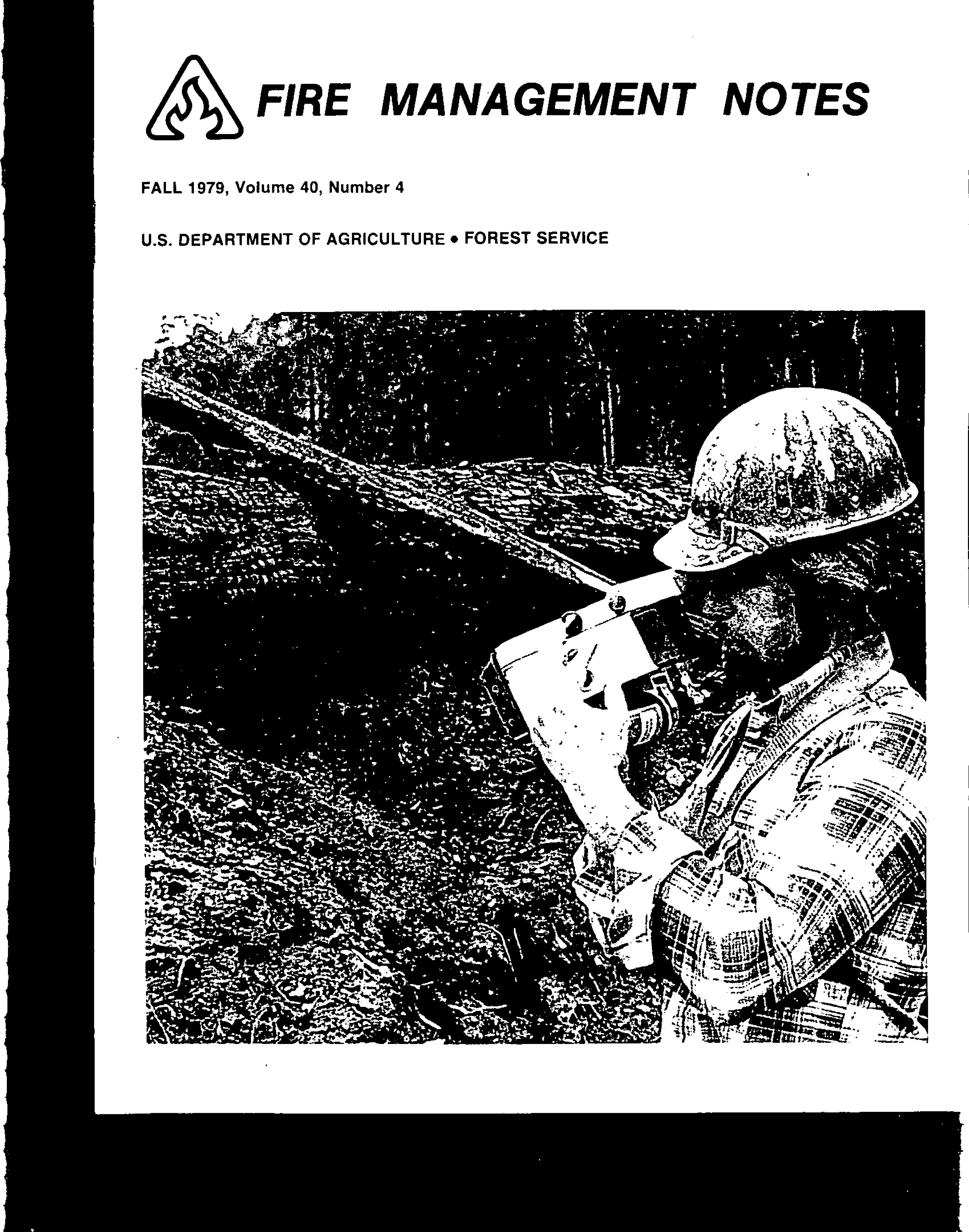 Cover of Fire Management Today Volume 40, Issue 04